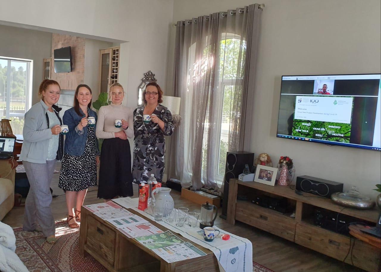 FSE team judging at the Virtual NPD day, University of Stellenbosch on 21 Oct 2020